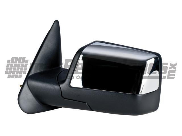 Espejo Ford Ranger 10-12 Izq Manual Cromado*