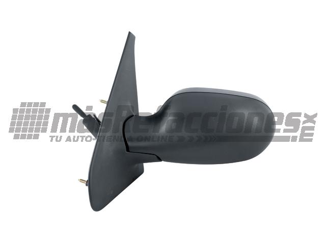 Espejo Renault Megane II 04-06 Izq C/control P/pintar*