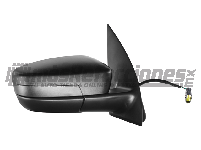 Espejo Volkswagen Gol 08-13/saveiro 10-13 Der Electrico Negro*