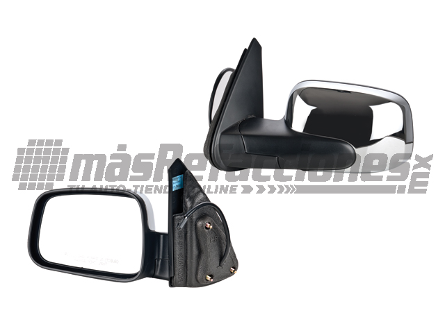 Espejo Chevrolet Hhr 06-11 Izq Elec Cromado