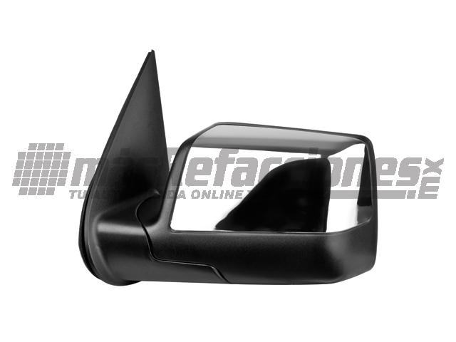 Espejo Ford Explorer 06-10 Izq Electrico C/desempaÑante C/luz Inferior Cromado*