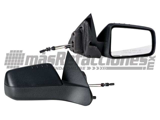 Espejo Ford Focus 08-11 Der C/control Mod Americano Corrugado Ngo*