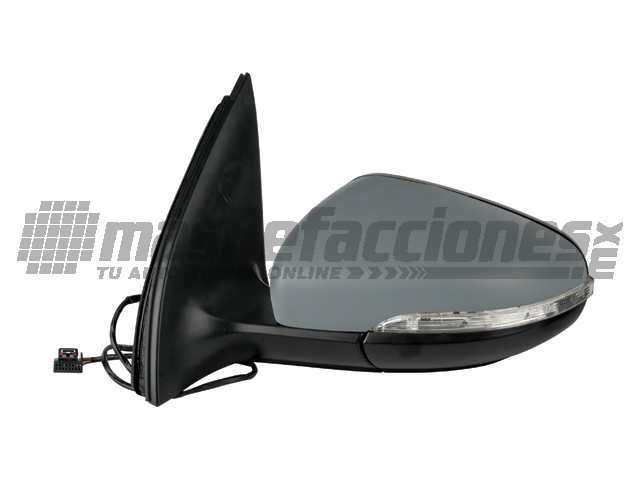 Espejo Volkswagen Golf Gti 10-12/jetta 11-13 Bicen Izq Electrico C/direccional C/desempaÑante P/pintar*