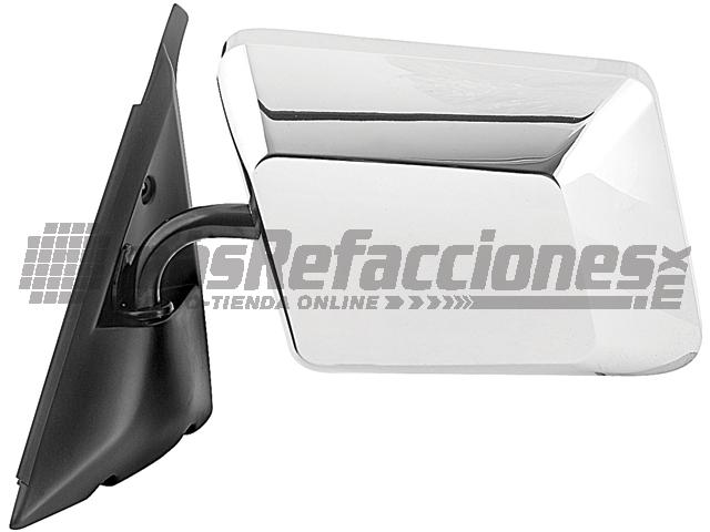 Espejo Chevrolet S 10/blazer/sonoma 82-94/bravada 91-94 Izq Manual Cromado*