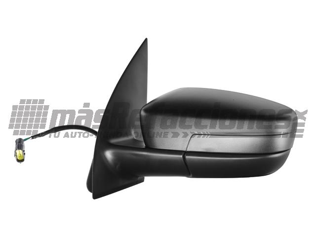 Espejo Volkswagen Gol 08-13/saveiro 10-13 Izq Electrico Negro*