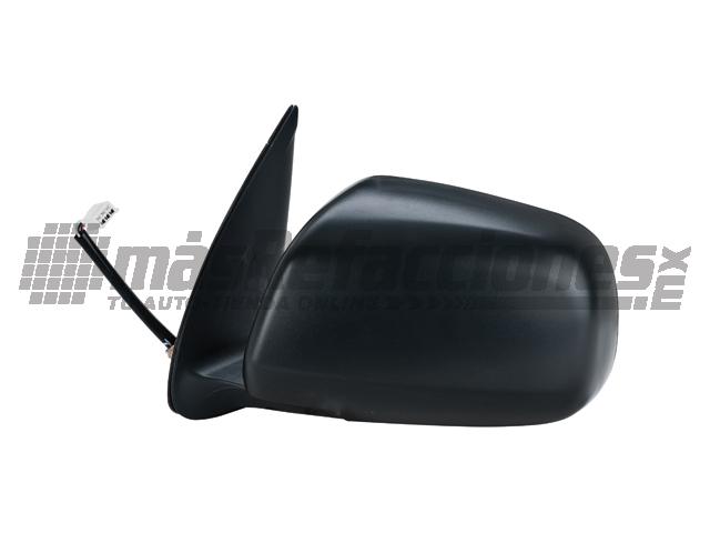 Espejo Toyota Hilux 05-11 Izq Electrico Negro*