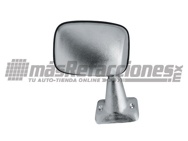 Espejo Toyota Pick Up 84-88 Der Manual Corrugado Cromado*