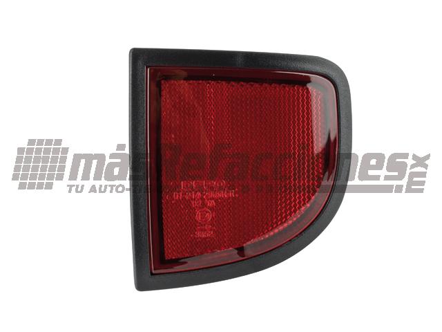 Cuarto Trasero Mitsubishi L200 08-14 Der Rojo