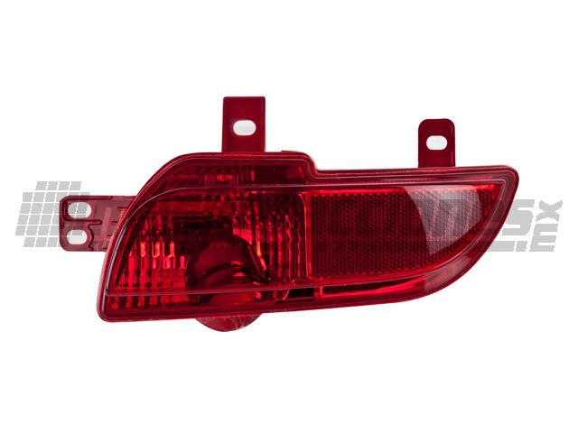 Reflejante Peugeot 207 09-11 Der