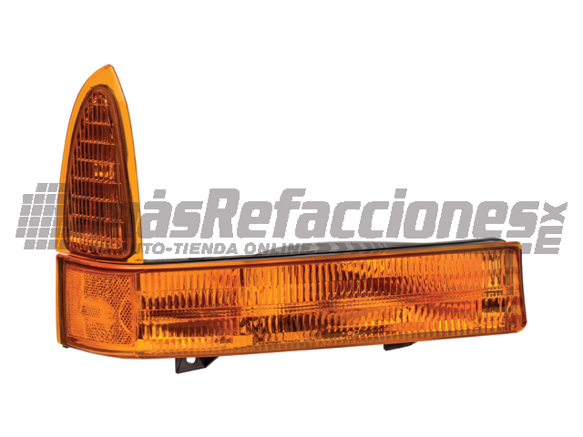 Cuarto Frontal Ford F-350/super Duty/excursion 99-01 Der Ambar