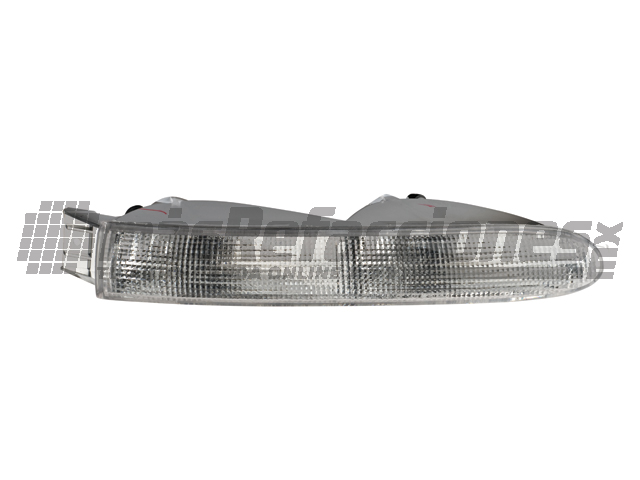 Cuarto Frontal Chrysler Town Country 98-00 Der Int Blanco