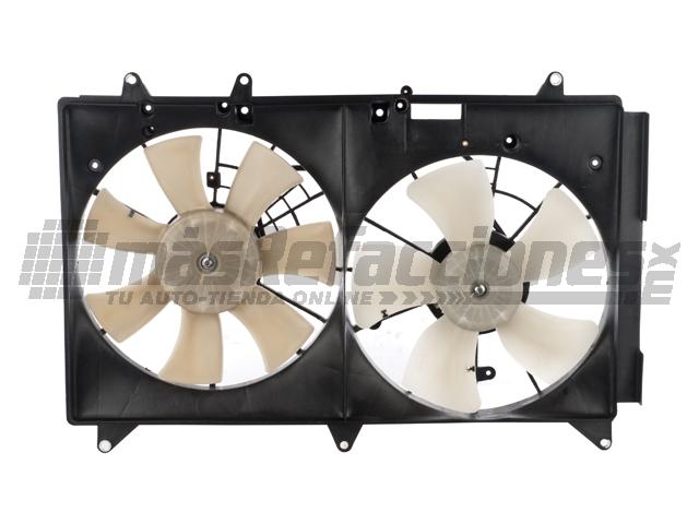 Motoventilador Mazda Cx-7 07-09/2.5l 10 Rad A/c Fan Asy (w/o Controller)