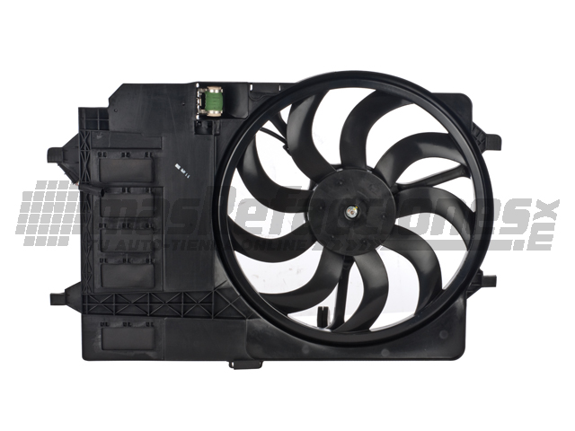 Motoventilador Mini Cooper 02-03 Rad Fan Asy
