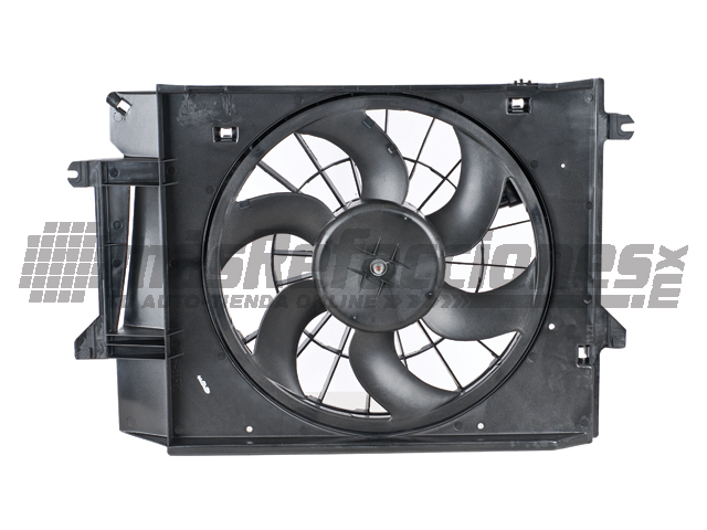 Motoventilador Mercedes Benz Villager 99-00/nissan Quest 99-02 Rad A/c Fan Asy