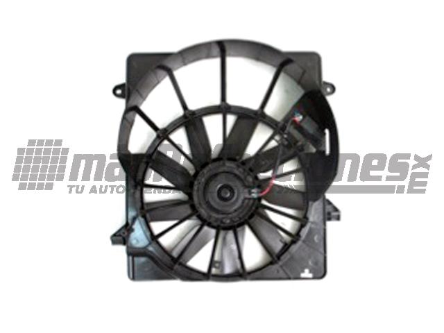 Motoventilador Jeep Librty 08-11 W/ Module Rad Fan Asy