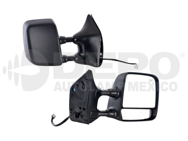 Espejo Nissan Armada/titan 04-11 Der Electrico C/des Telescopico Cor Ngo*