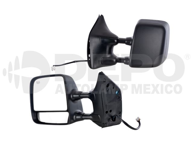 Espejo Nissan Armada/titan 04-11 Izq Electrico C/des Telescopico Cor Ngo*