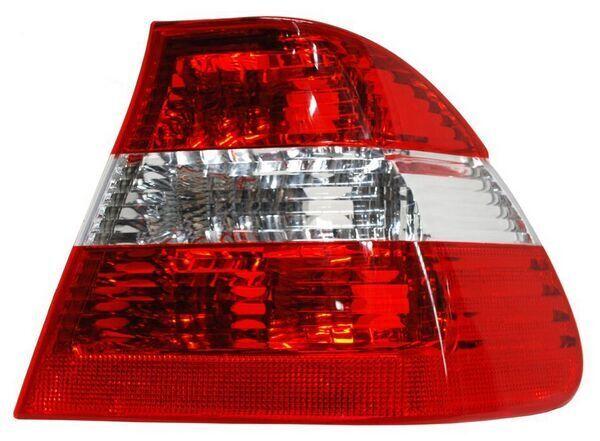 CALAVERA BMW SERIE 3 02-04 ROJO/BCO EXT S/ARNES TYC DER